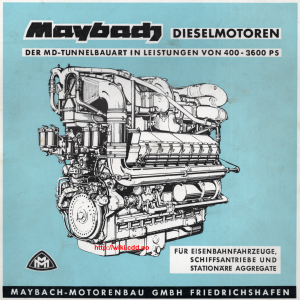 Maybach MD serie (1961)
