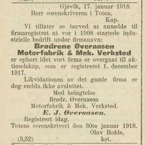 1918 Øveraasen til as.jpg